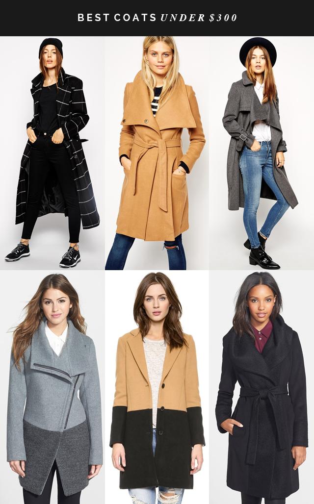 best coats under $300