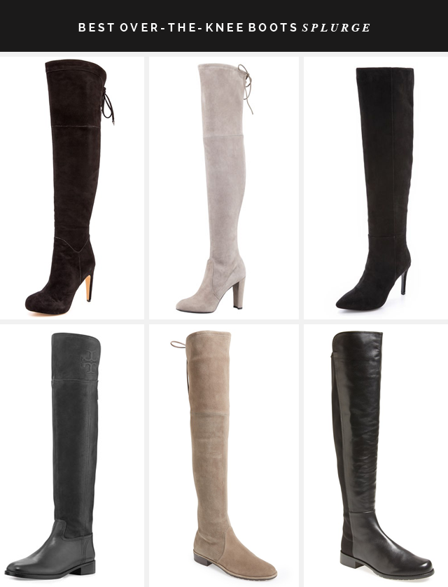BEST OVER THE KNEE BOOTS SPLURGE