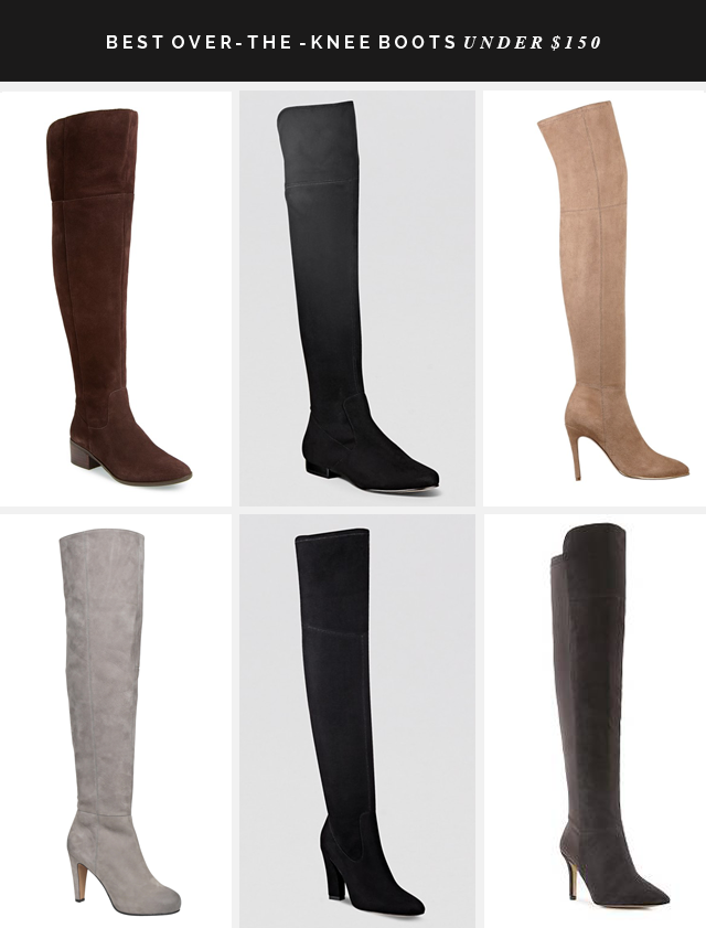BEST OVER THE KNEE BOOTS UNDER $150