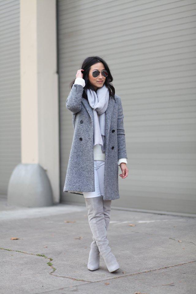 H&M Grey scarf