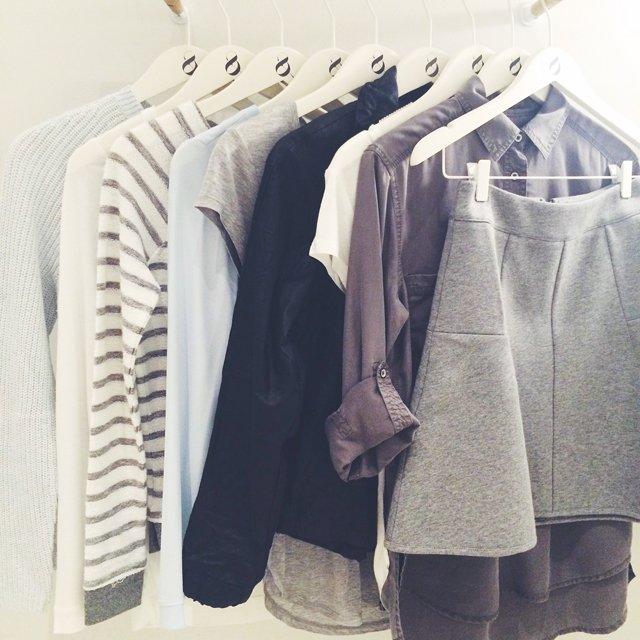 Lou & Grey grey skirt
