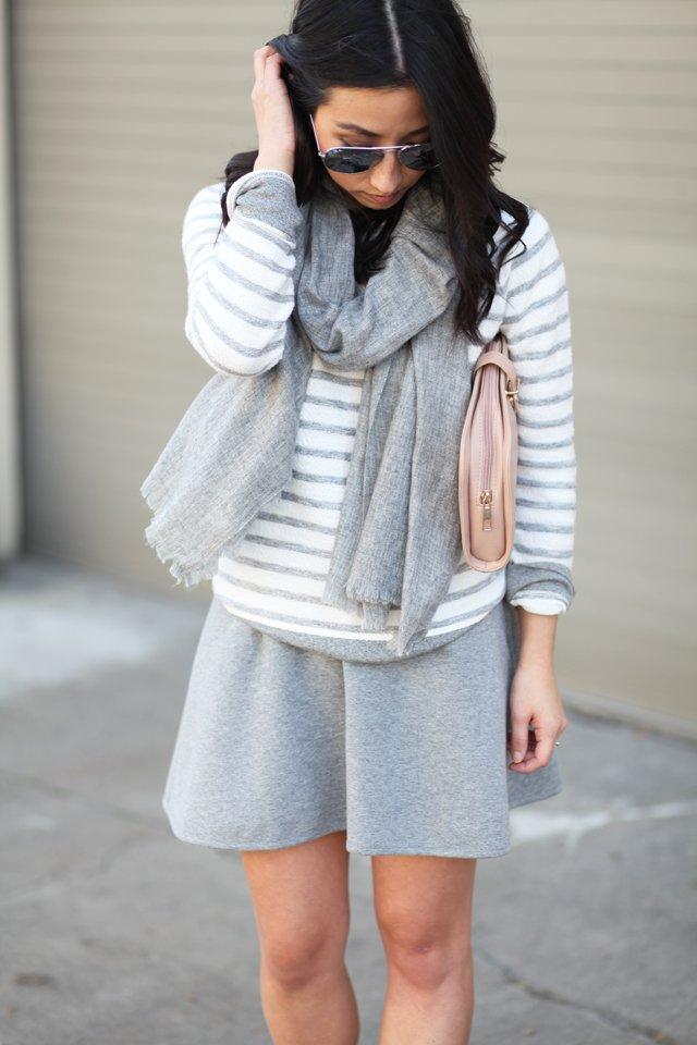 Lou & Grey haze stripe sweatshirt