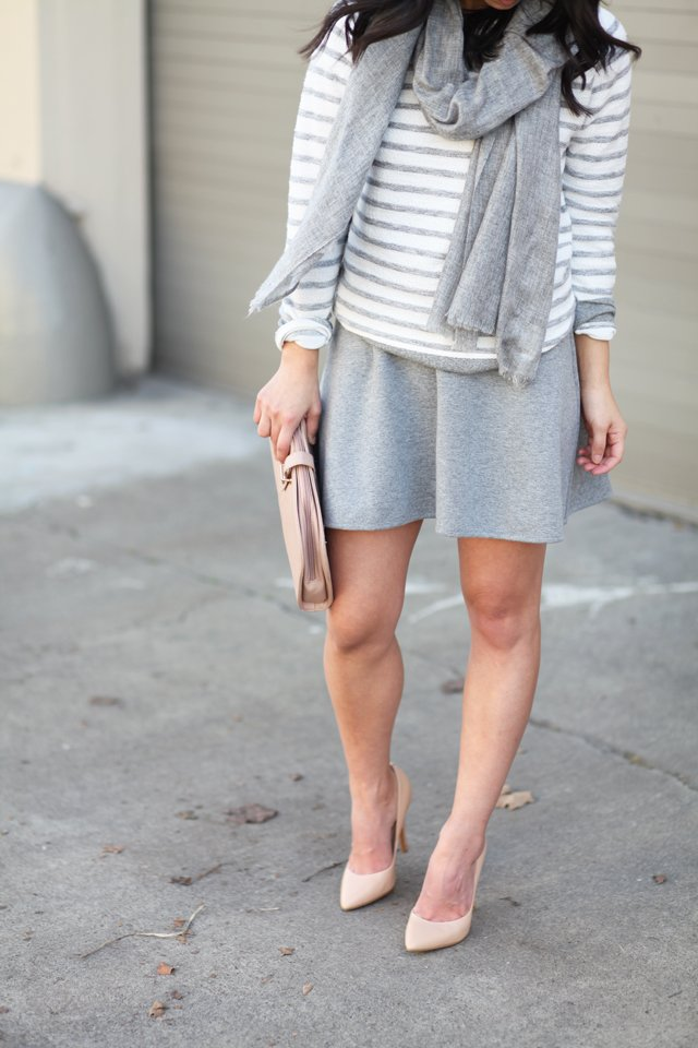 Lou & Grey structure skirt