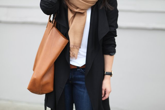 black and tan combo