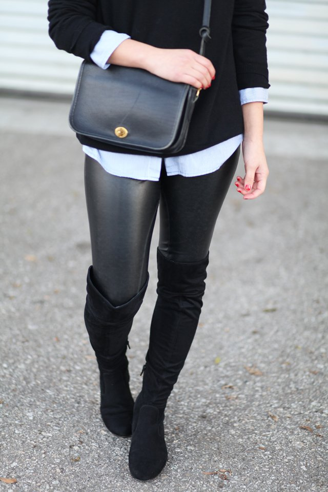d6fef3a504d Flat OTK Boots - Crystalin Marie