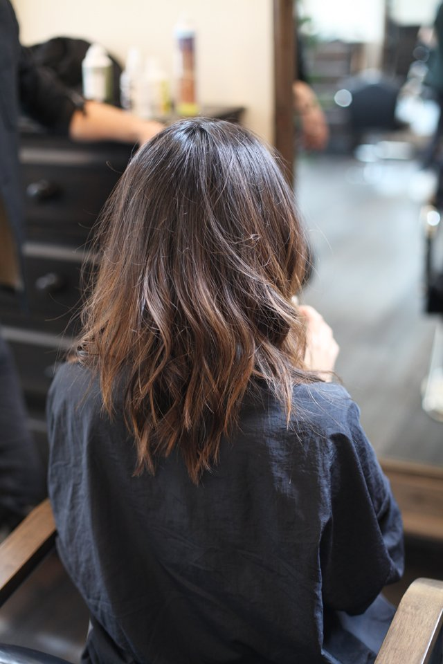 Soft Balayage Population Salon