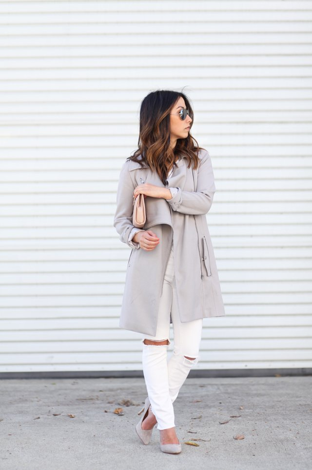 The Perfect White Jeans - Crystalin Marie
