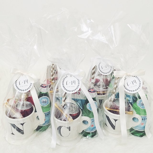 Crystalins bachelorette gift bags