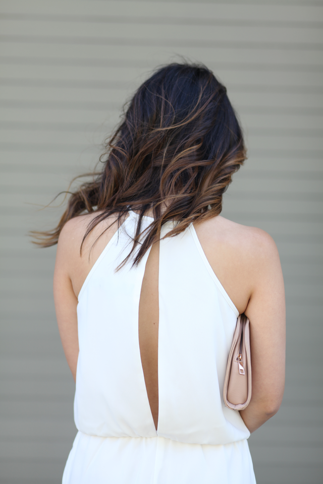 The Fifth romper white