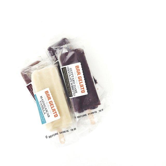 Chocolate sorbetto bar