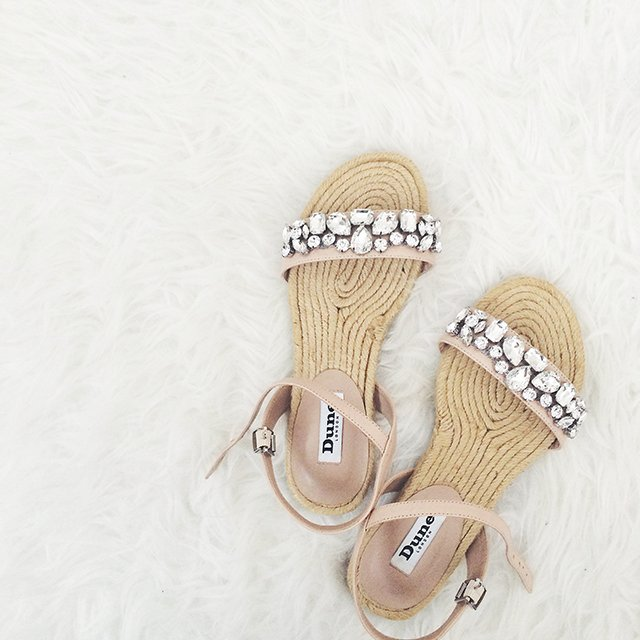 Dune London Womens Lemins Espadrille Sandal