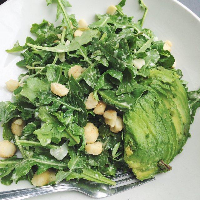 The Plant Arugula salad