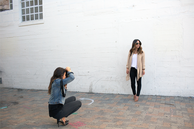 Behind the scenes of blog photos 1