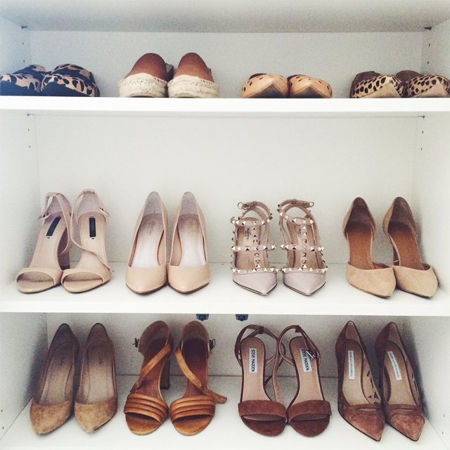 Crystalin Marie Shoe storage