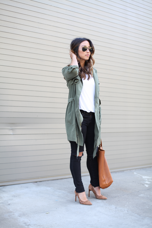 The Best Lightweight Trench Coats Crystalin Marie