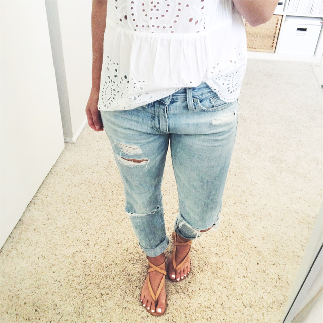 AG ex boyfriend jeans