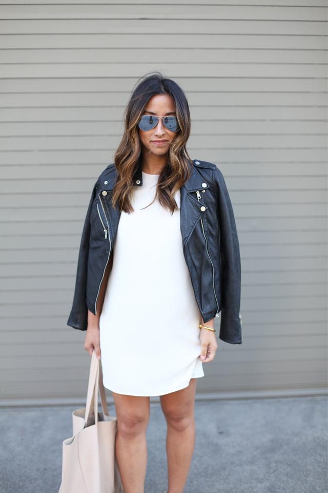 Zraa leather jacket