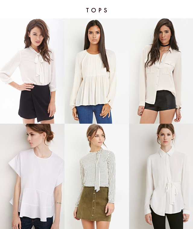 Fall Favorites From Forever 21 Crystalin Marie