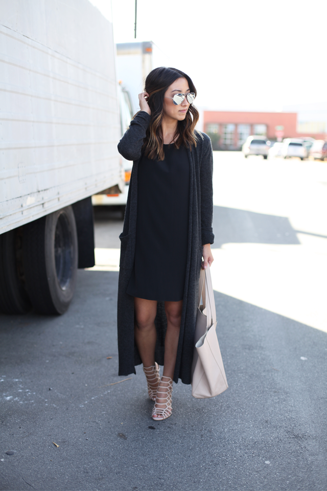 Pyrene Long Cashmere Duster