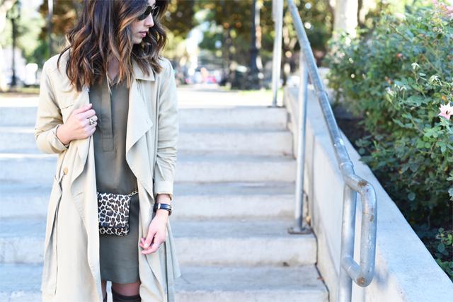 Aritzia trench coat