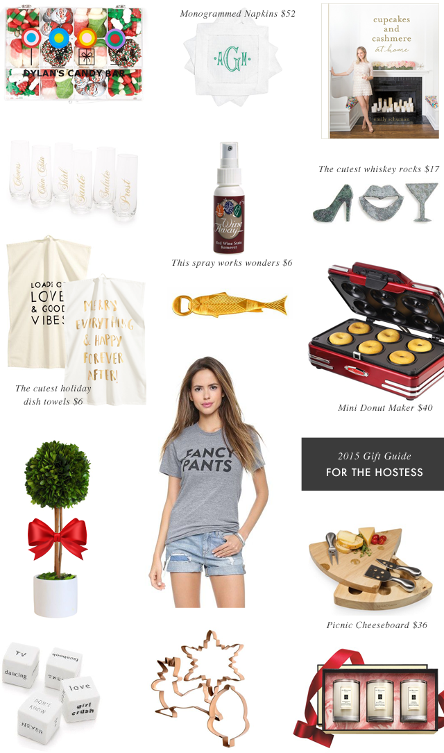 Gift Guide for the Hostess 2