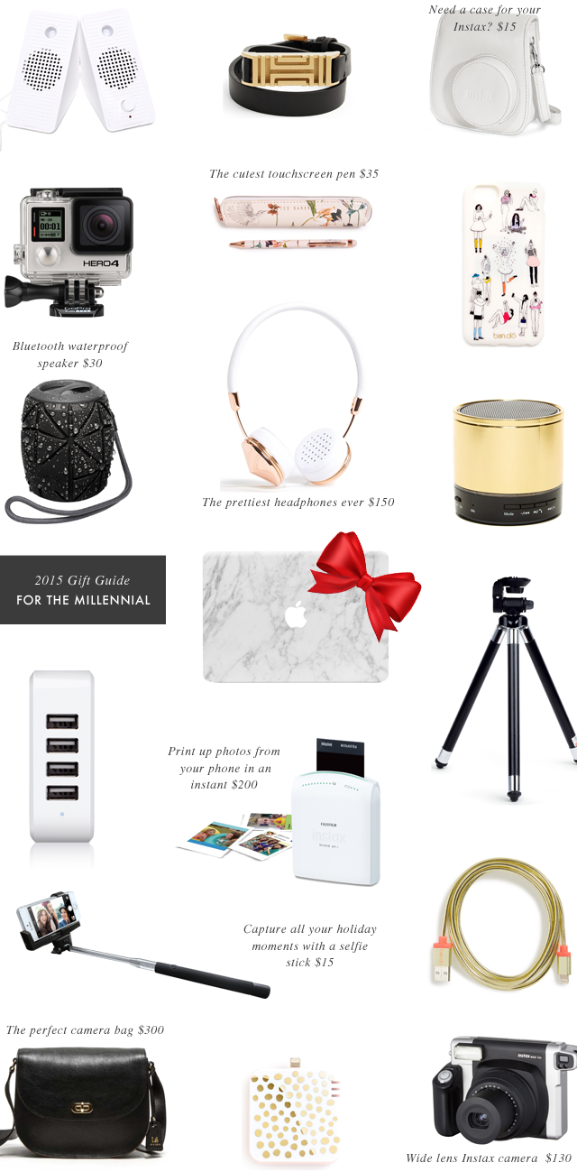 Gift guide for the millennial crystalin marie for Millenial pink gifts