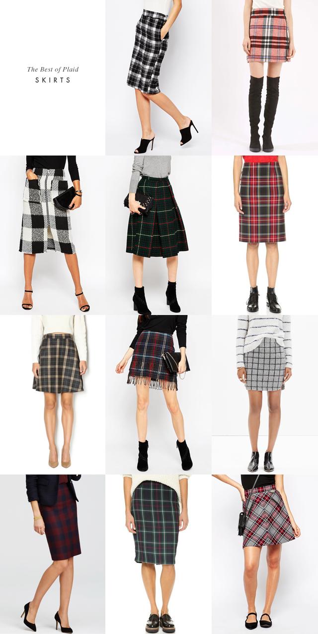 Plaid Skirts