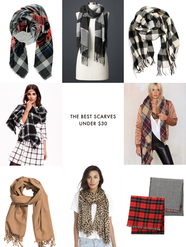 The best scarves Under $30
