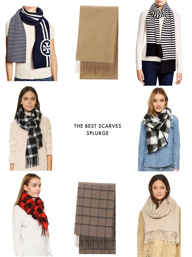 The best scarves splurge