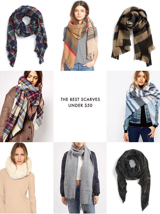 The best scarves under $50