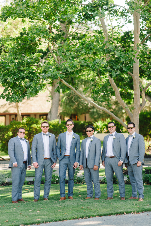 Crystalin Marie Groomsmen Chambray suits
