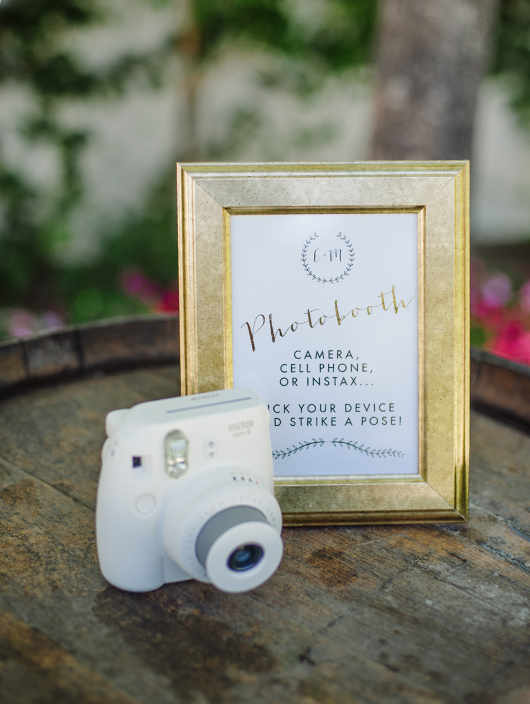 Custom Photobooth Sign by Meghann Miniello