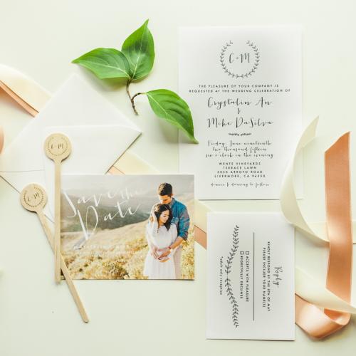 Meghann Miniello Wedding Stationary