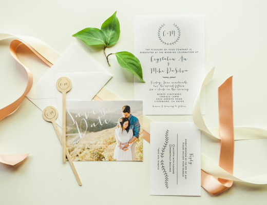 Meghann Miniello Wedding Stationary