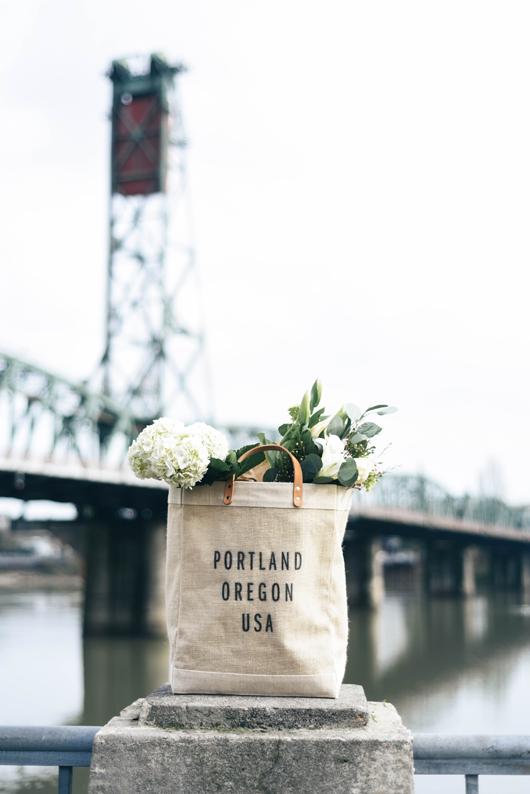Portland Apolis tote Waterfront Portland Oregon