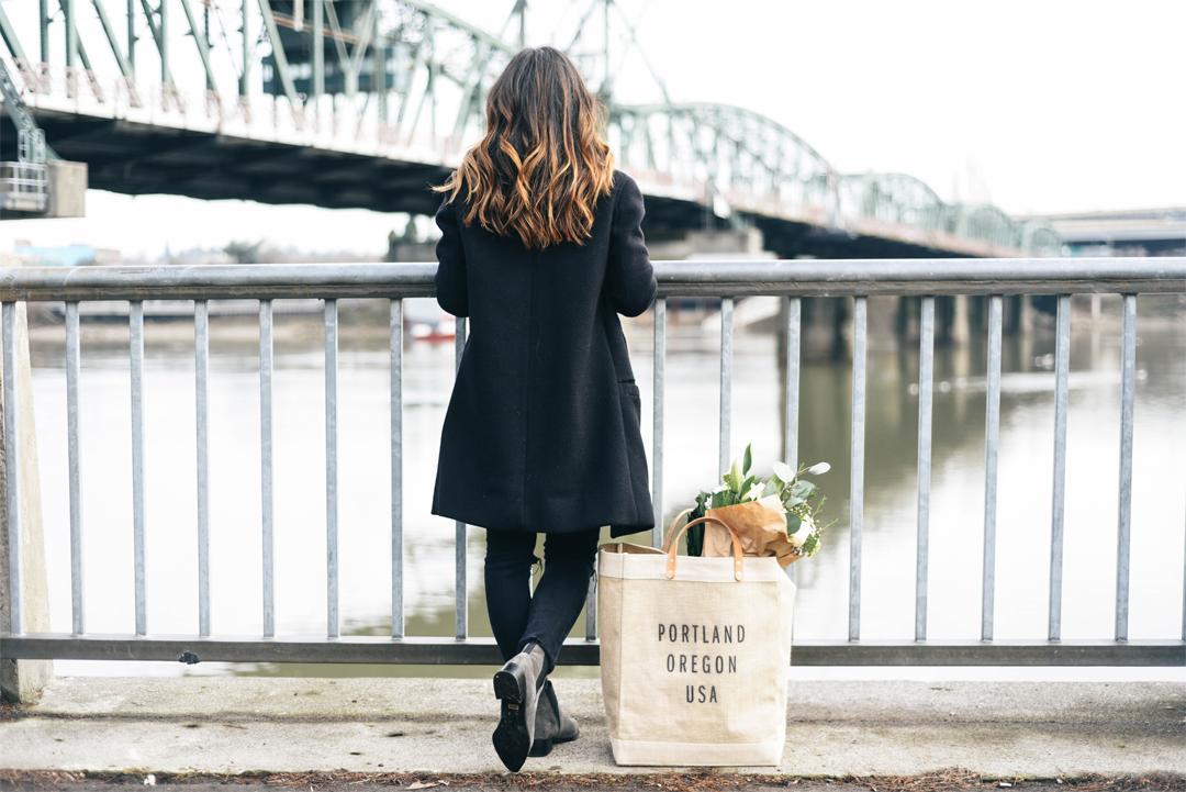 Portland Fashion blogger