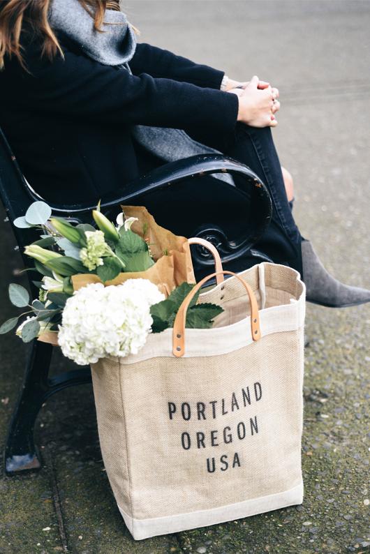 Portland Oregon Apolis tote