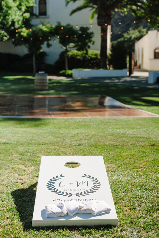 Wedding Corn Hole logo by Meghann Miniello