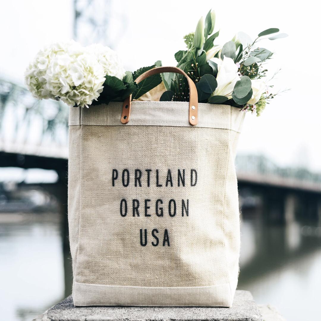 Apolis Portland Oregon Market Tote