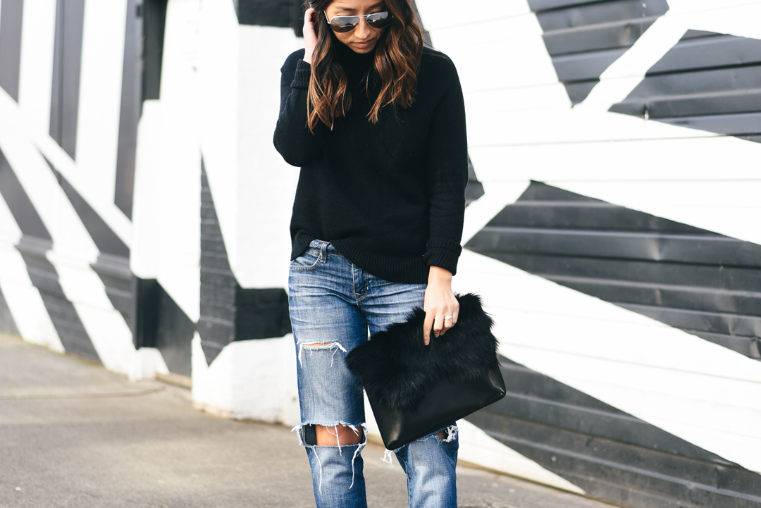 Booties and Boyfriend jeans