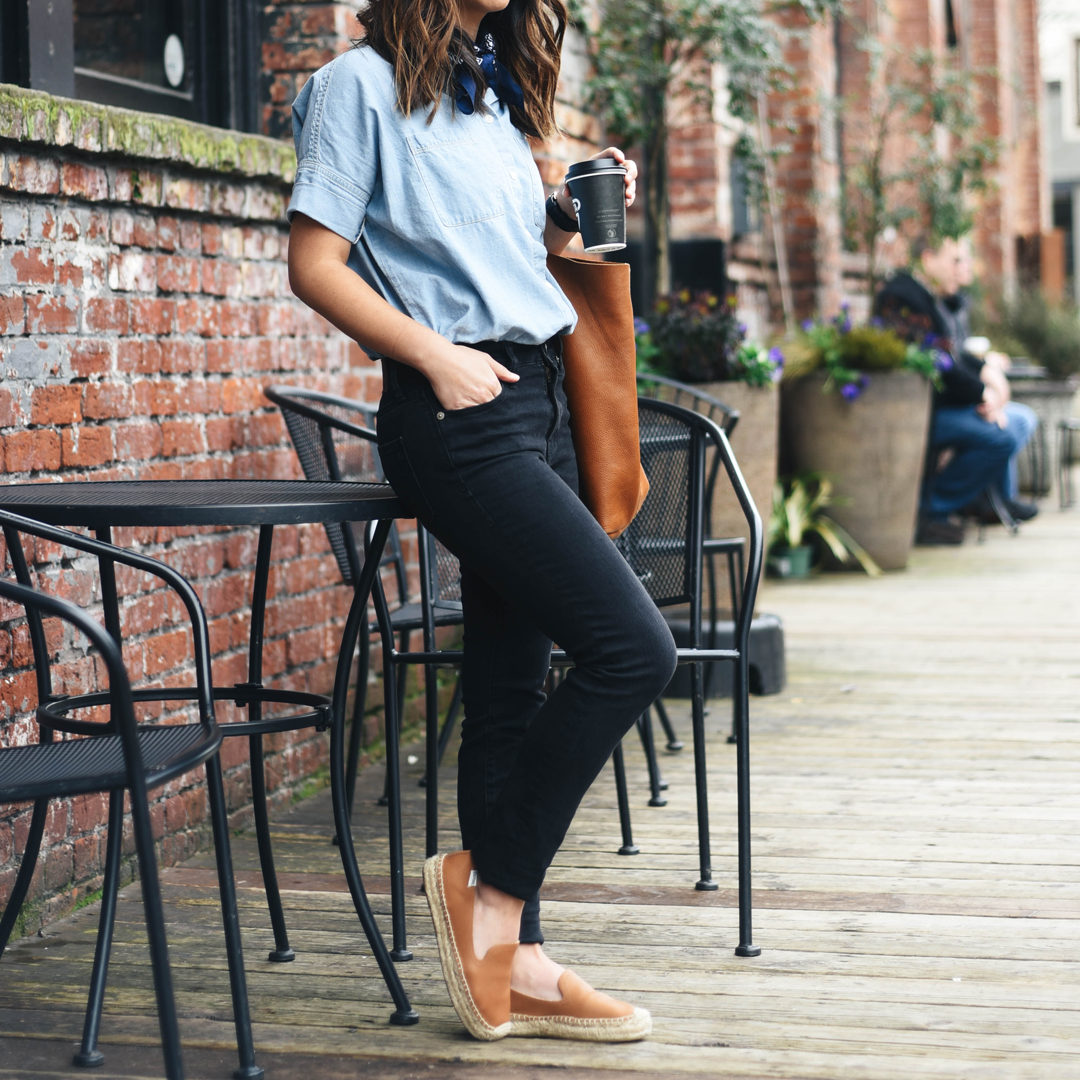 Madewell high waisted jeans Lunar