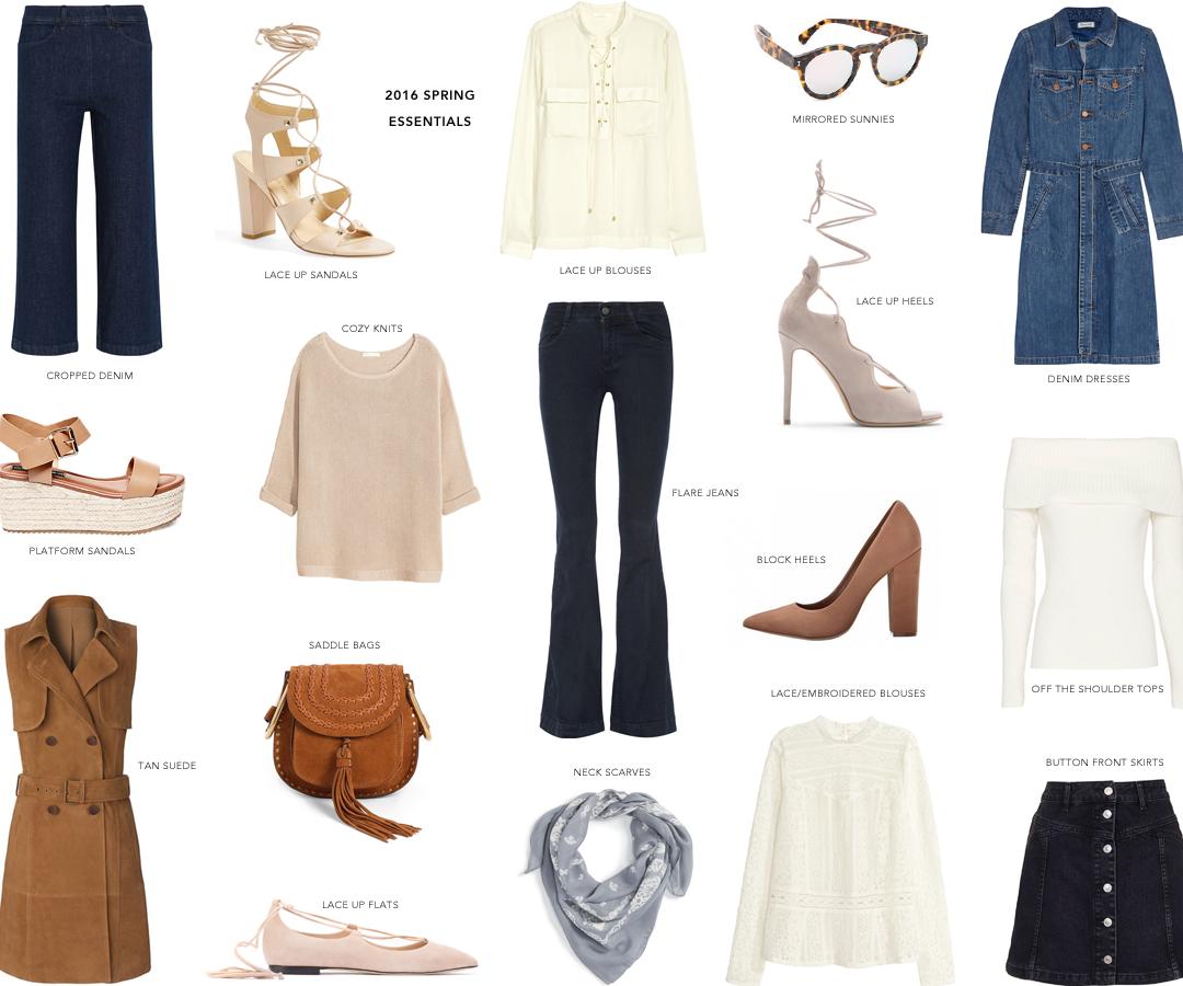 Spring 2016 Essentials