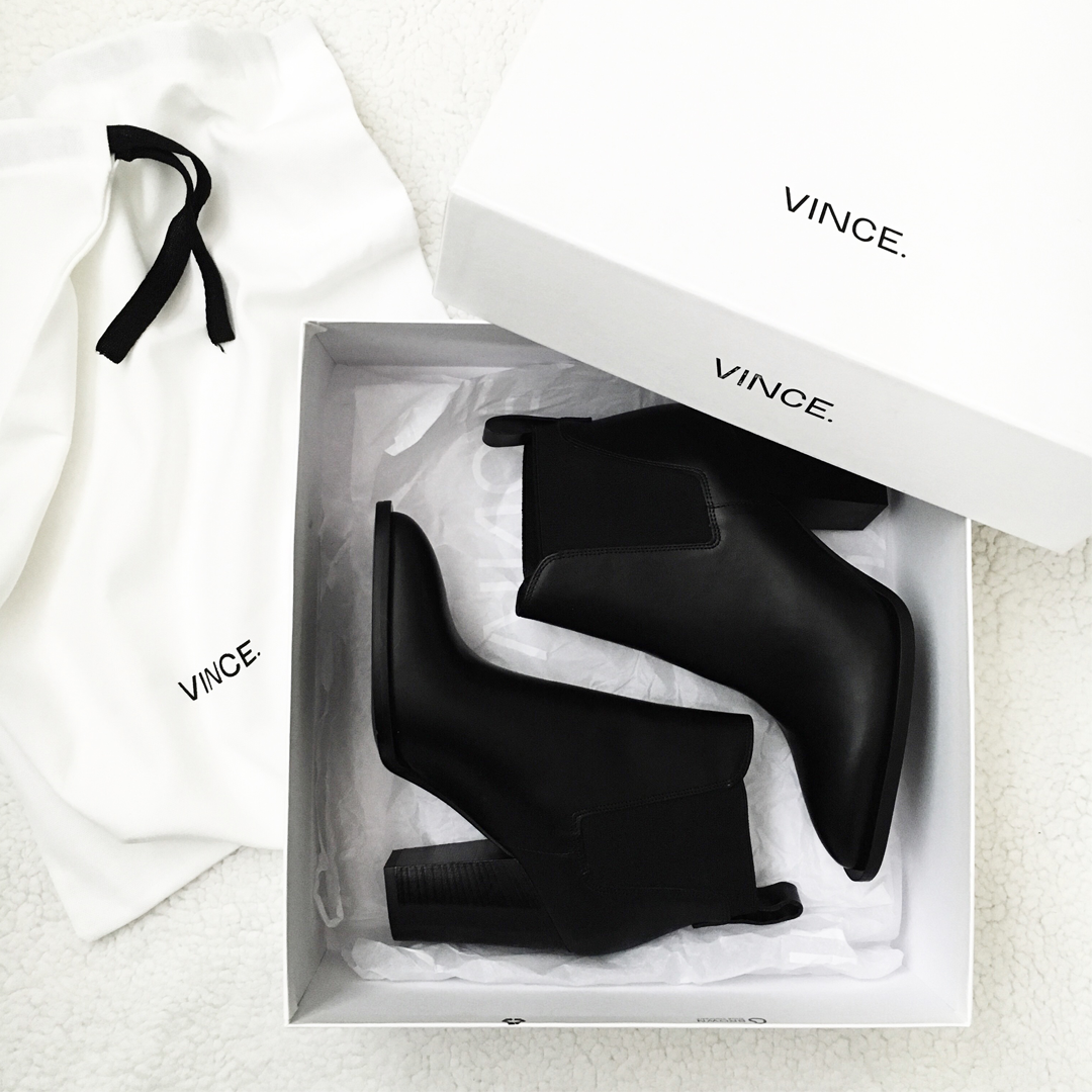 Vince Black Ankle boots