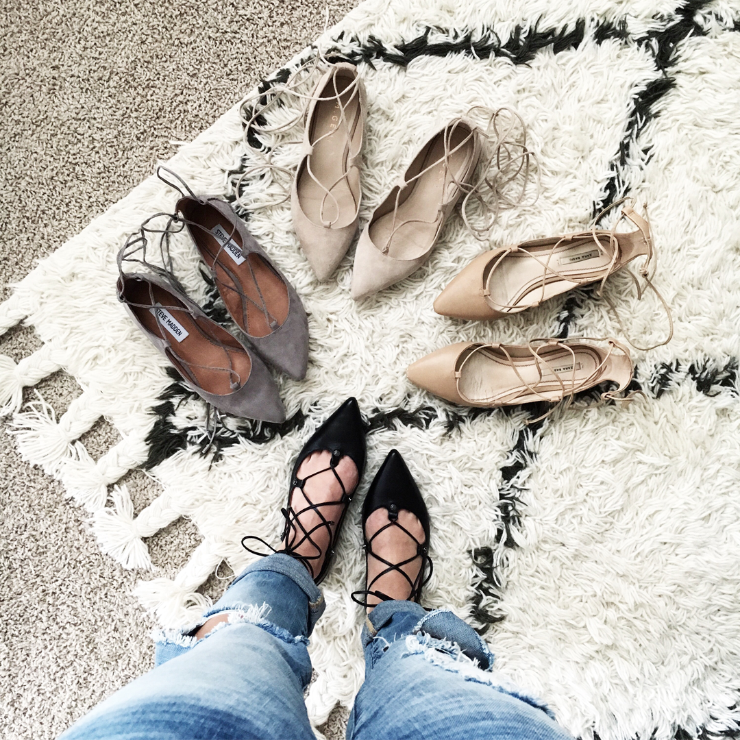 The Best Lace up flats