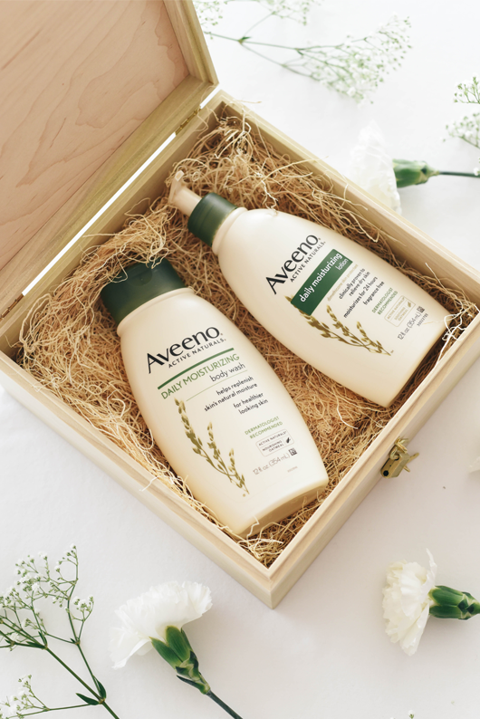 Aveeno Daily challenge lock box