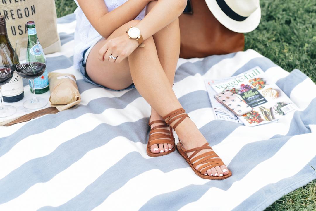 b3a43044761 The Perfect Summer Sandal - Crystalin Marie
