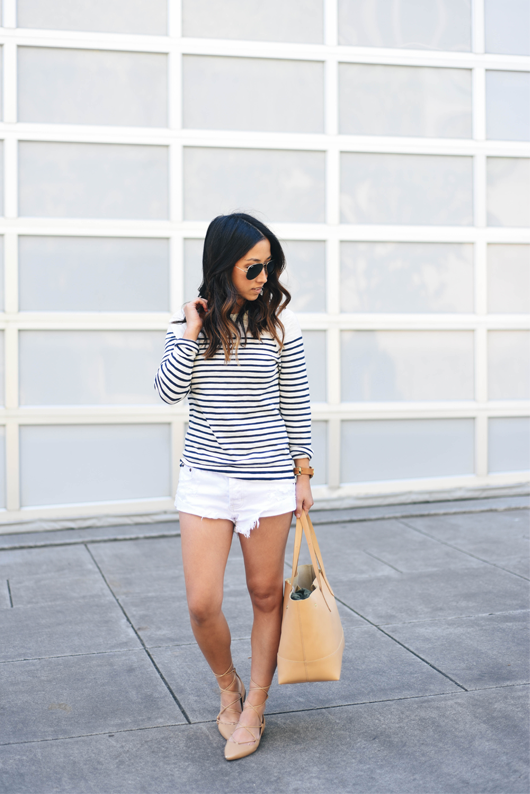 J.Crew Factory striped sweater
