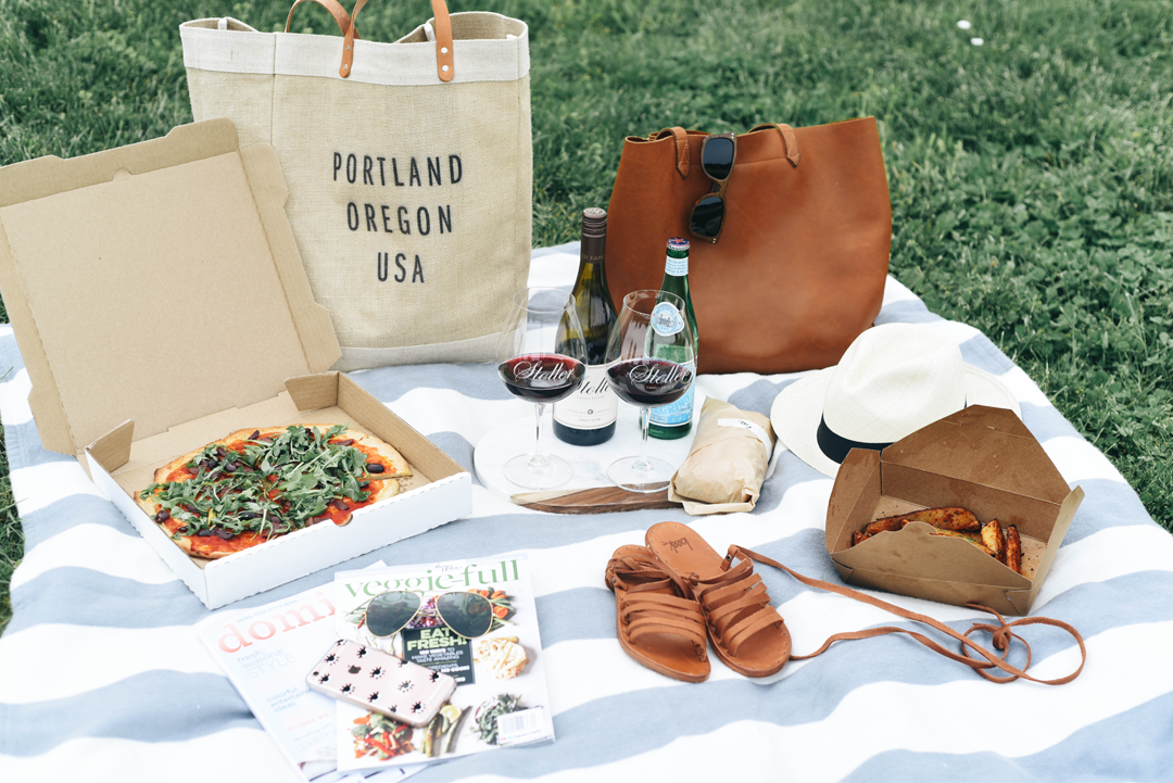 Stoller Winery picnic