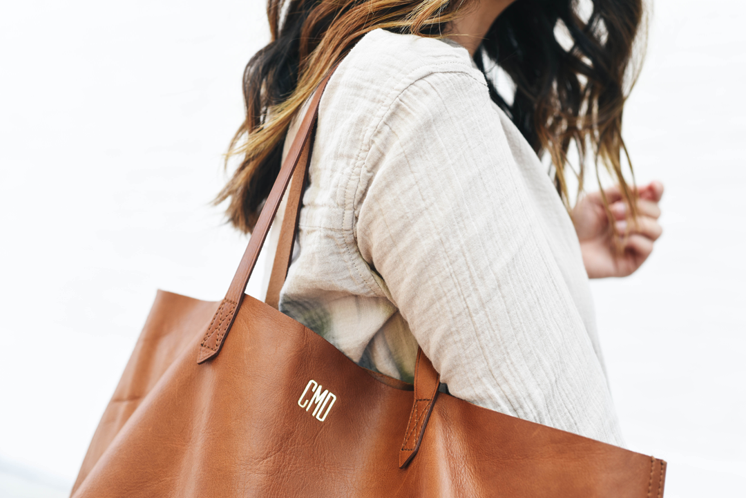Madewell east west tote