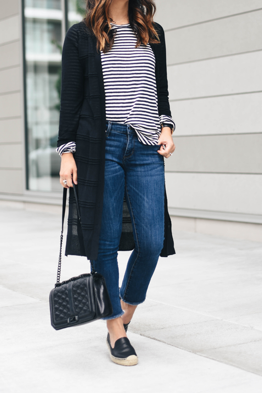 Cropped Flare Jeans on Repeat - Crystalin Marie